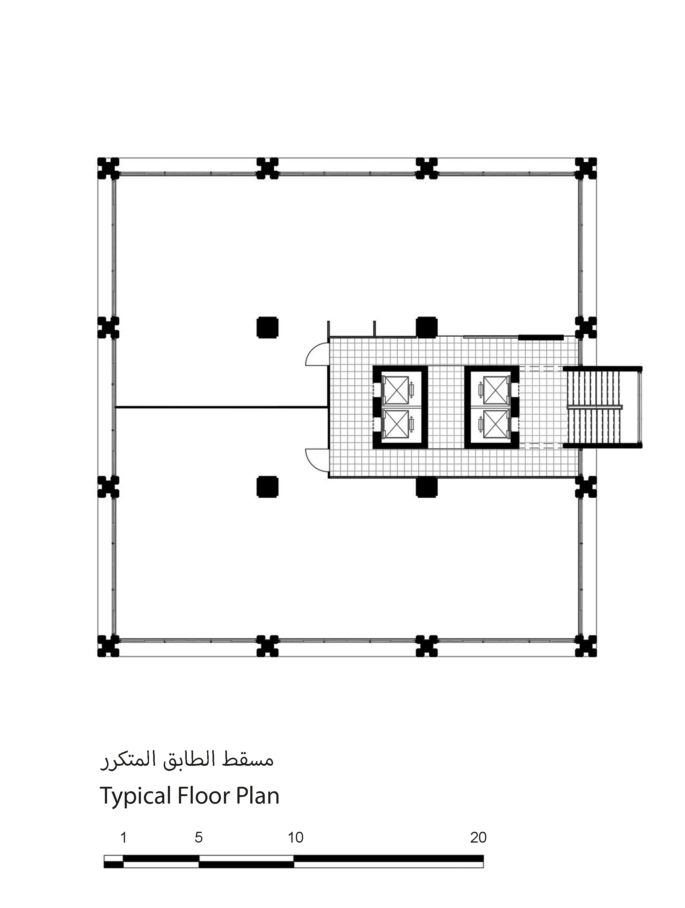 C:UsersDELLDownloadsAdham Centre Typical Floor Plan Model (1